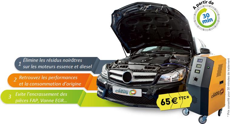 Décalaminage moteur à Montpellier
